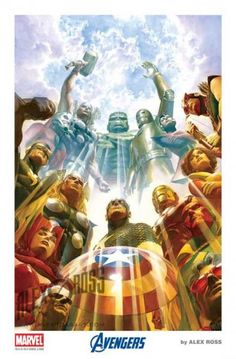 Captain America and the Avengers by Alex Ross
