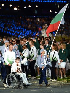 2012 Olympic Games - Opening Ceremony. Team Bulgaria