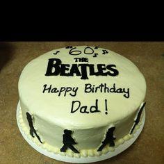 Beatles theme cake @Renee Peterson Plunk