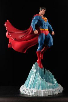 ArtStation - 1/4 Superman Statue Printed and painted!, Daniel Bel
