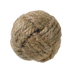 DE 1492. Knott, tau/ jute, D 3,2 cm Jute, Knitted Hats, Beanie, Knitting, Fashion, Palmas, Moda, Tricot, Fashion Styles