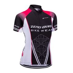 Women's cycling Jersey, Quick Dry, Breathable, Full Zip Tops.
