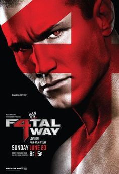 WWE Fatal 4-Way 2010 (2010) | http://www.getgrandmovies.top/movies/27484-wwe-fatal-4-way-2010 | Fatal 4-Way was a PPV which took place on June 20, 2010 at the Nassau Veterans Memorial Coliseum in Uniondale, New York. The concept of the show was based around three championship matches in the card that were contested as Fatal Four-Way matches.  The WWE Championship was defended by John Cena against Randy Orton, Edge, and Sheamus. The World Heavyweight Championship was defended by Jack Swagger…