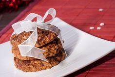 Ovsené sušienky s jablkami a čokoládou