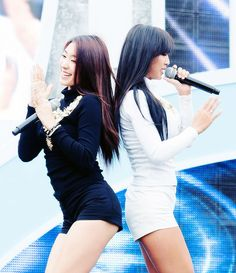 Bora and Hyorin SISTAR19 Come visit kpopcity.net for the largest discount fashion store in the world!!