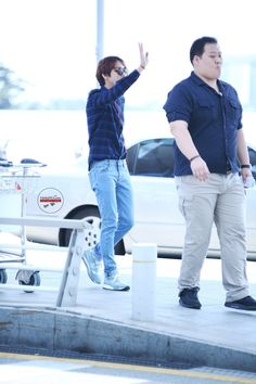 CNBLUE Jung Yong Hwa at Incheon Airport heading to Singapore 140508