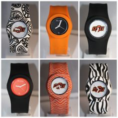 OSU Slap Watches make great last-minute stocking stuffers! #OkstateJewelry