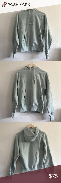 champion x urban outfitters reverse weave hoodie champion x urban outfitters reverse weave hoodie | new without tags | no flaws | size XS | amazing quality and sold out everywhere Champion Sweaters Crew & Scoop Necks