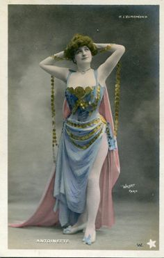 Vintage French RPPC Postcard Actress Miss Anoinette Walery M716 | eBay