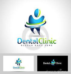 Dentista dental Logo