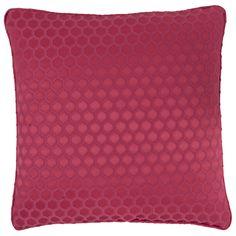 Nurata Honeycomb Berry Square Cushion