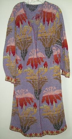 Morocco coat pattern by Kaffe Fassett I love this designer of colors and patterns