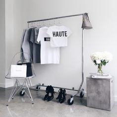 #minimal #white #wardrobe