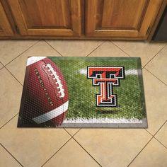 Texas Tech University Scraper Mat - Ball