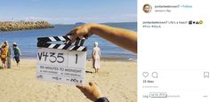 24 July: Filming at Jackson's Bay. Eddie Izzard, James D'arcy, Finishing School, Judi Dench, Jackson, Film, Beach, Movies, Film Stock