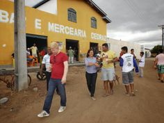 HORA DA VERDADE: ATUALIDADE: Prefeita Tânia Matos visitou obra de p...