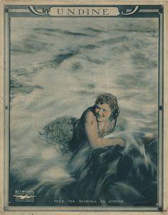 Undine, 1913. First known mermaid movie.