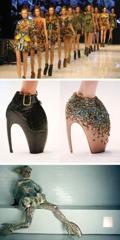 The 'Armadillo' shoes featured in Alexander McQueen's final collection 'Plato's Atlantis' caused a fashion furore. Models were rumoured to have quit the runaway show citing the shoes as dangerous, fashion editors loved the controversial design, and Lady Gaga wore a pair in her 'Bad Romance' music video. The design isn't what you'd call timeless but they …