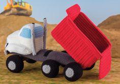 Dump Truck crochet pattern