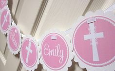 Girls Baptism First Holy Communion Confirmation by ciaobambino, $20.00