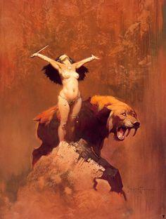 Frank Frazetta (Fantasy Art)                                                                                                                                                                                 More