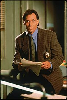 NYPD Blue (1993-2005) Detective, Jimmy Smits, New York City, Nypd Blue, Cop Show, Vintage Television, Tv On The Radio, Famous Faces, Gorgeous Men