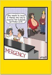 Birthday Wish Joke Card By NobleWorks 295 Do You Need To Send Someone