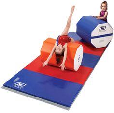 Mancinos 20 X 28 Orange White Octagon Is In Stock And Ready To Ship Back HandspringGymnastics EquipmentRollsTo