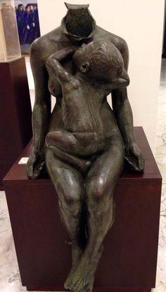Francesco Ciusa, Bontà, 1911 - Musei civici di Cagliari Buddha, Statue, Art, Art Background, Kunst, Gcse Art, Sculptures, Sculpture, Art Education Resources