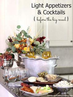 Holiday Appetizers & Cocktail to Serve Before the Big Meal — Celebrations at Home