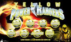 AYSO Soccer Banner | Yellow Power Rangers // Contact us for your Banner needs // In House Graphic Designers