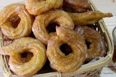 rosquillas, roscos fritos, rosquillas fritas, Julia y sus recetas, dulces de sartén
