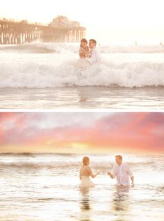 Trash the dress?! I can not decide if I like this or not? These pictures are beautiful tho!