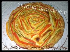 Le Mille e una Torta di Dany&Lory: Pizza rustica con carote e zucchine