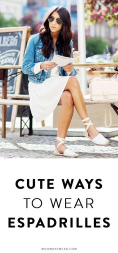Cute ways to style espadrilles this summer! Which is your favorite?