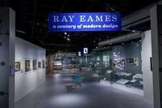 California Museum exhibition on Ray Eames