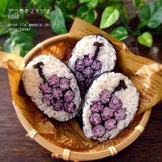 「ぶどう」の飾り巻き寿司 飾り巻き寿司/デコ巻き/ぶどう