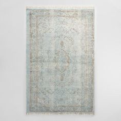 One of my favorite discoveries at WorldMarket.com: 5'x8' Gray Woven Cotton Naomi Area Rug
