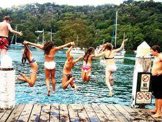 summer lake trips