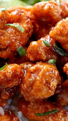 Sticky Honey Lemon Ginger Chicken ~ Amazingly delicious