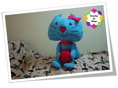 Princesa Verinha - gatinha em tecido - Ref. 05