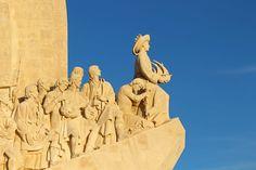 Padrão dos Descobrimentos, or the Monument to the Discoveries #Lisbon #Portugal