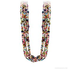 Gypsy Groove Beaded Necklace