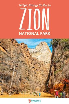 Zion National Park Utah Planning Guide. This ultimate guide on the best things to do in Zion National Park including best hiking trails, scenic drives, where to stay in Zion, RVing and camping tips, getting to the park on road trips, attractions you must see, and more. Don't visit Utah before reading this Zion travel tips guide.  #Utah #ZionNationalPark #Zion #travel #traveltips #nationalpark #nationalParks #Utahtravel #roadtrip #roadtrips #hiking #hikingtrails