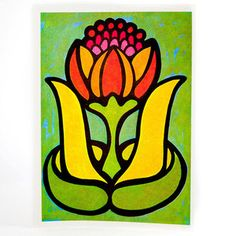 '60s Flower Set III, $22, now featured on Fab.