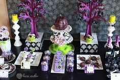 Party Inspiration!   Halloween Glam Printable Party Collection! | The TomKat Studio