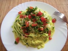 Guacamole, Cabbage, Spaghetti, Paleo, Food And Drink, Low Carb, Vegetables, Cooking, Ethnic Recipes