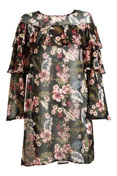 FLOUNCE AROUND DRESS