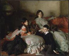 John Singer Sargent 'Essie, Ruby and Ferdinand, Children of Asher Wertheimer'…