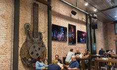 Located in the heart of downtown San Luis Obispo, CA - SLO Brew is a neighborhood local brewery, restaurant, event space and music venue featuring a full bar, billards lounge and creekside patio dining. Central Coast, California.